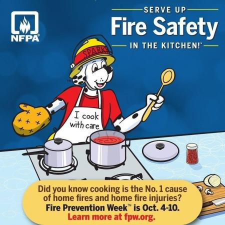 Fire Prevention Week  Starts October 9, 2020