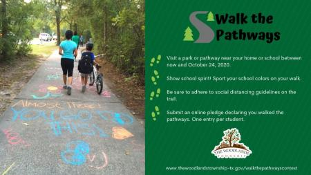 Walk The Pathways Program - October 11, 2020 - October 24, 2020